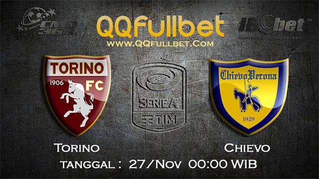 PREDIKSIBOLA - Prediksi Taruhan Bola Torino VS Chievo 27 November 2016 (SERIE A Italia)