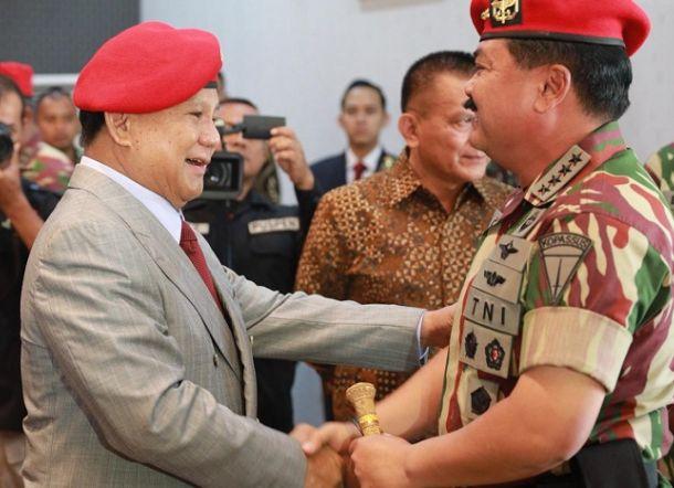Prabowo dan Signal dari Markas Kopassus