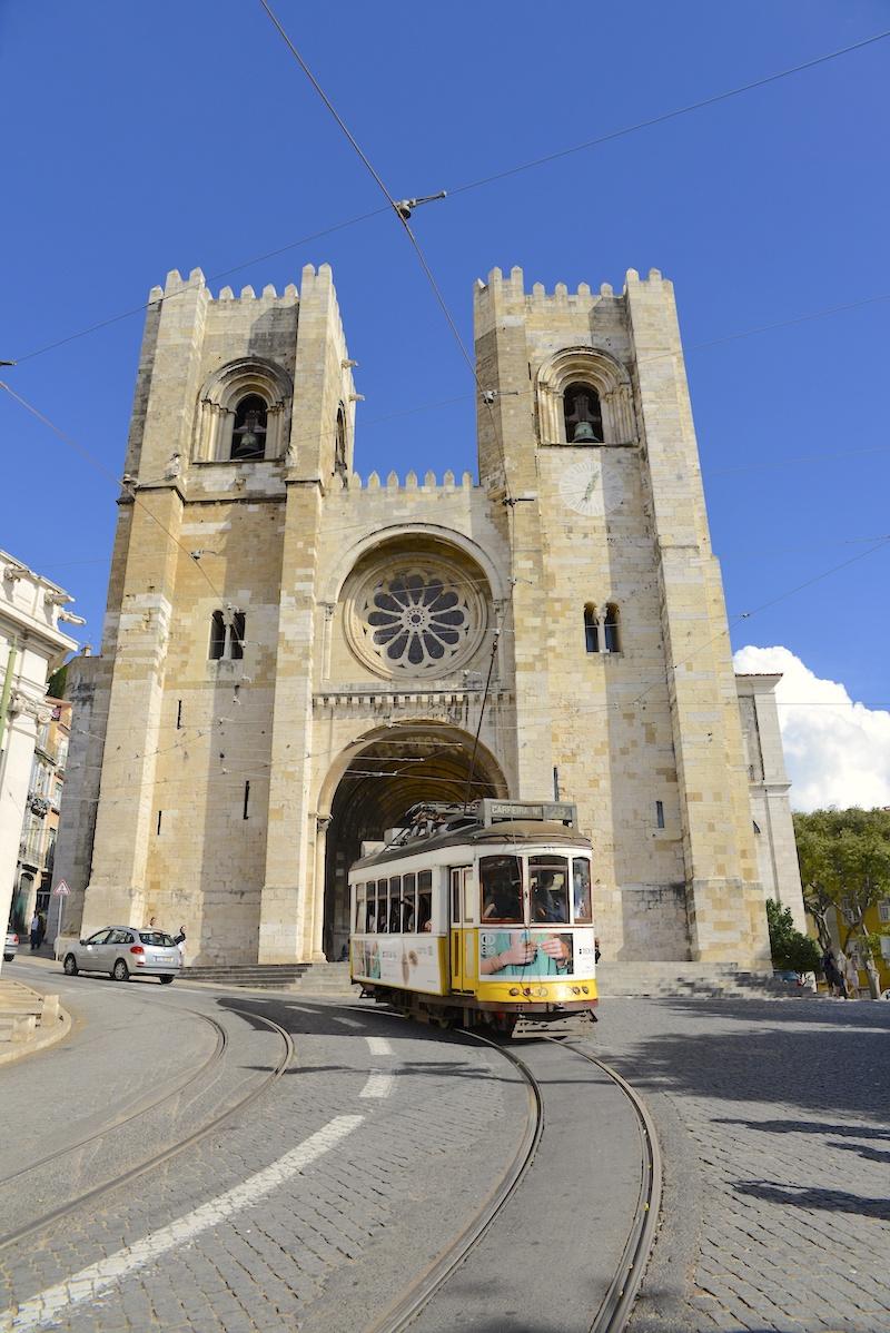 Alfama Lizbona katedra Se