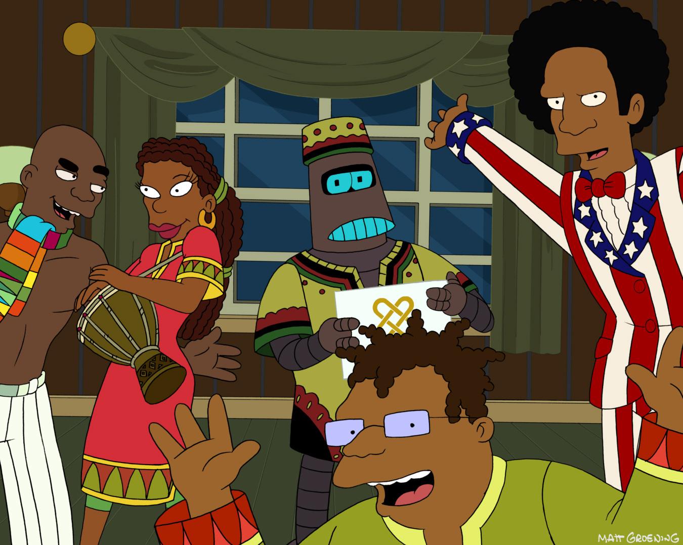 Futurama Christmas Episodes.Christmas Tv History Futurama Holiday Spectacular 2010