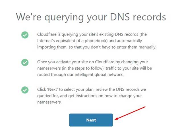 configuración de DNS
