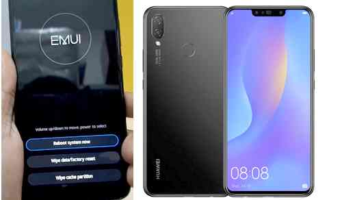 Reset Huawei Nova 3i via Recovery Mode
