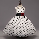 Pretty Polka Dot Dress