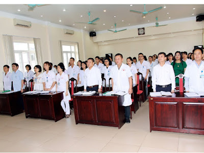 Đại hội cán bộ công chức, viên chức Bệnh viện Xây dựng Việt Trì năm 2019