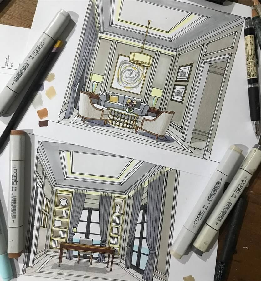 01-Guest-and-study-room-Yandi-Prayudhi-Interior-Design-and-Travel-Drawings-www-designstack-co