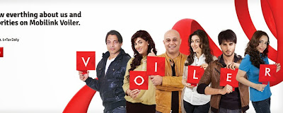 Mobilink Voiler Service one of is own kind