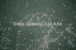 Debu Dimana Aja Ada, asal debu