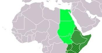 Mapas De Africa Del Este O Africa Oriental