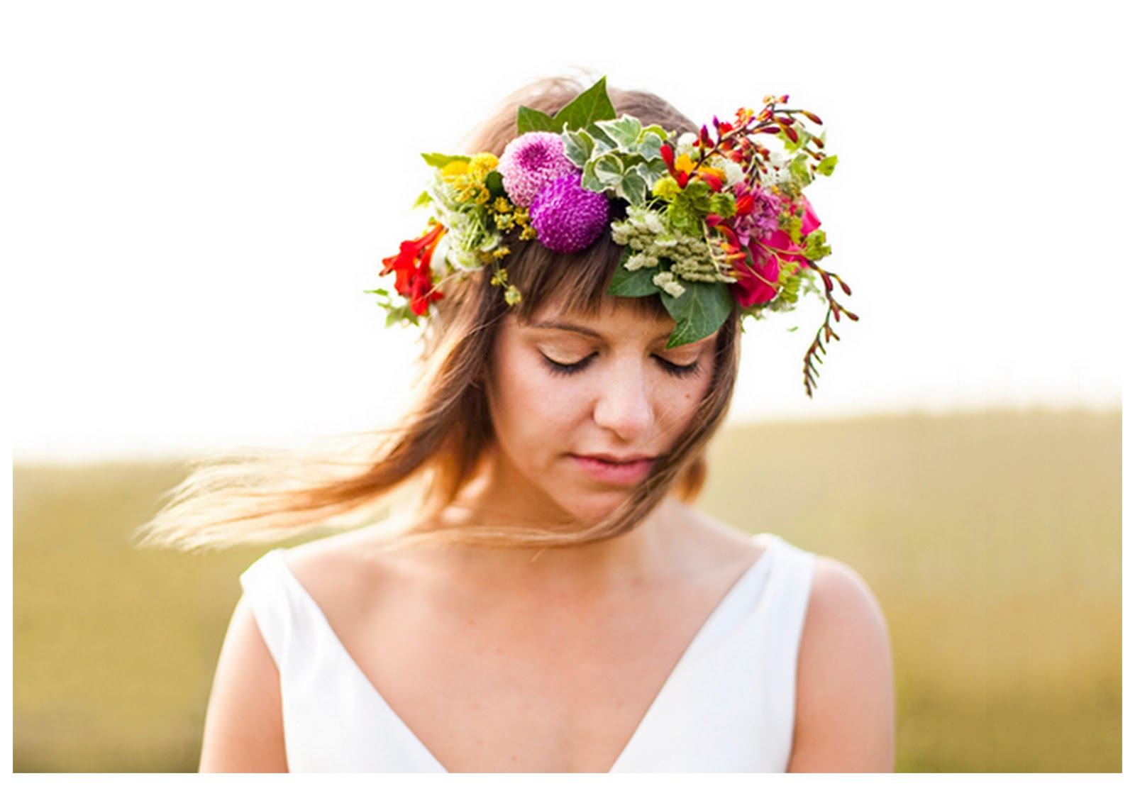 Flower crown crafthubs wedding blog uk wedding ideas before the big day izmirmasajfo Images