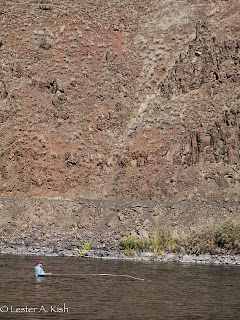 Fisherman on the Grande Ronde River