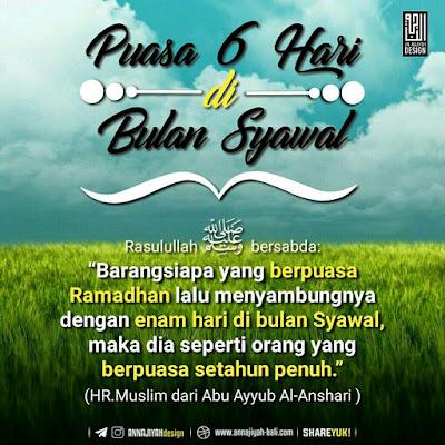 Hukum Puasa Syawal