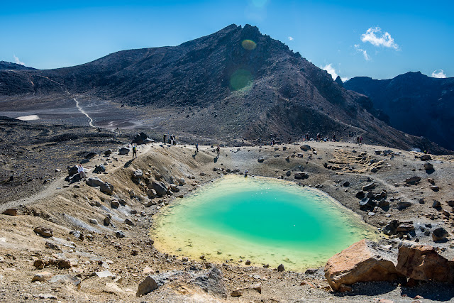 Emerald Lakes and Tongariro Crossing track