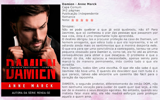 DAMIEN - Trilogia Protetores #02 - Anne Marck