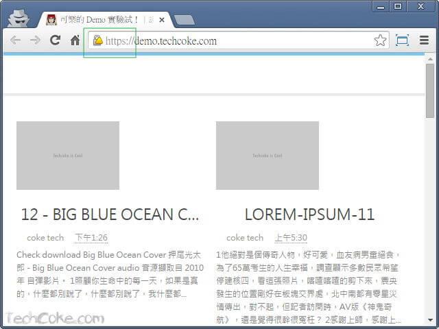 Blogger 自訂網址使用 CloudFlare Flexible SSL 設定 HTTPS_204