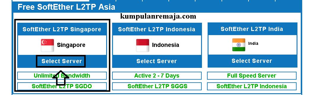 Cara Membuat Akun SoftEther L2TP VPN di VPN Jantit - Kumpulan Remaja