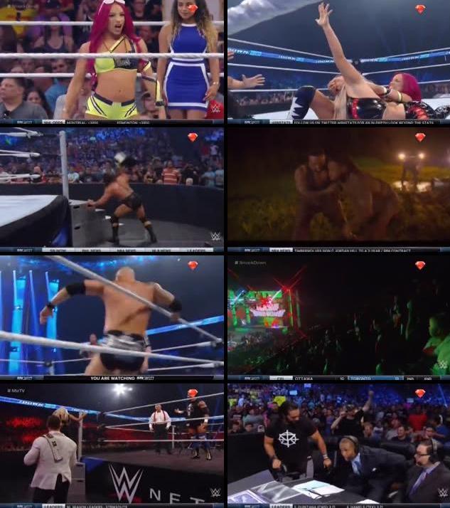 WWE Thursday Night Smackdown 14 July 2016 HDTV 480p