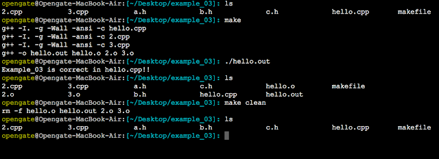 makefile include 命令