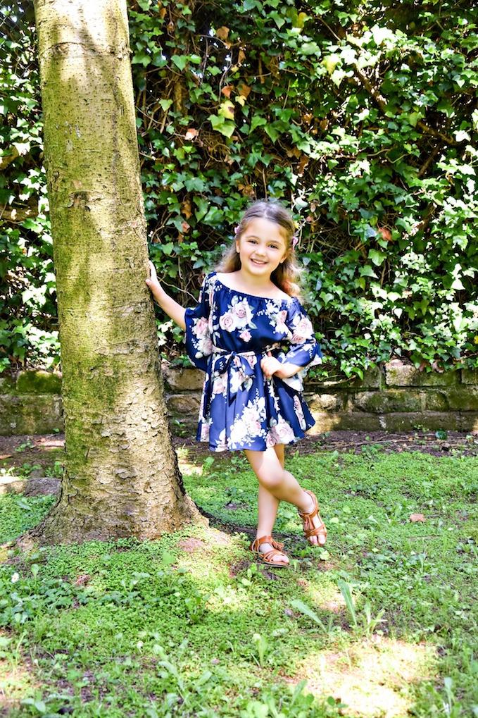 MiniLook: un abito a fiori estivo