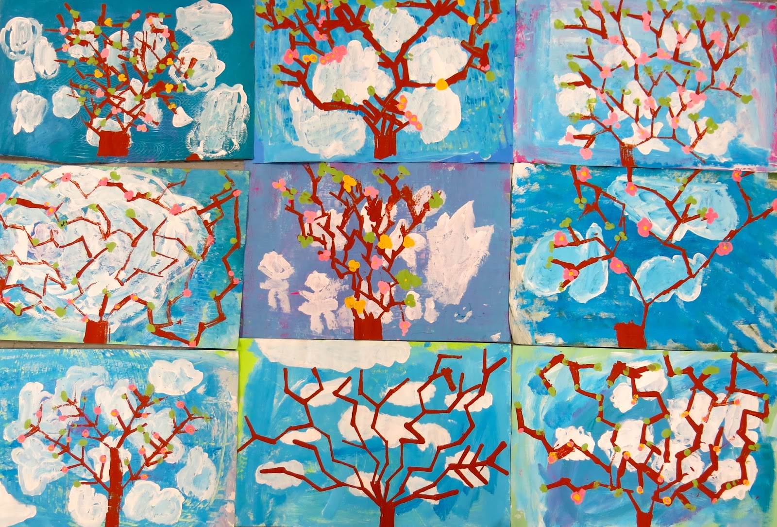 Cassie Stephens In The Art Room Springtime With Van Gogh And Charley Harper