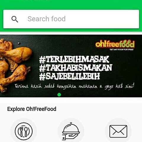 elak pembaziran dengan oh free food,founder Oh fREE FOOD,elak pembaziran makanan dengan apps Oh free Food