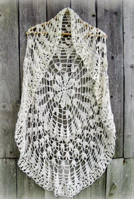 Shrug Sweater Knitting Pattern