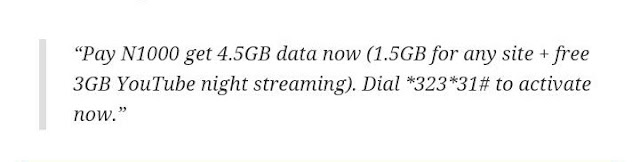 Airtel Releases 4.5GB For 1000, 9GB For 2000 Plus Free YouTube Streaming