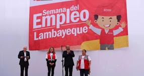 Ofrecen 2,500 puestos de trabajo en la región Lambayeque