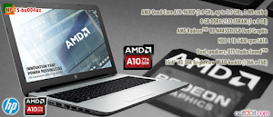 "[Review] HP 15-ba004ax "" Notebook AMD Pertama Support RAM DDR4 """
