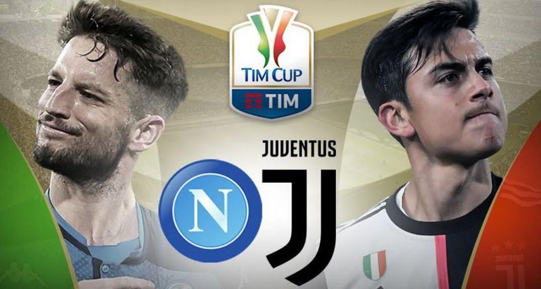 Rojadirecta JUVENTUS-NAPOLI Streaming Gratis, dove vedere la finale di Coppa Italia 2020.