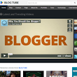 BlogTube Professional Video Blogger Template | Templateism