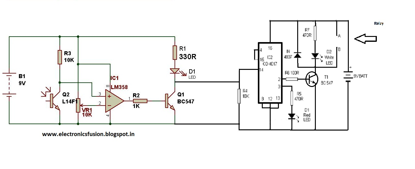 simple ir remote control circuit