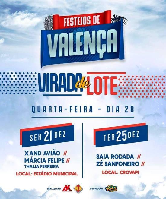 Venda do segundo lote de ingressos para os Festejos 2018 de Valença do Piauí é iniciada