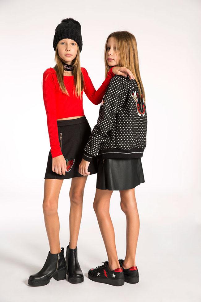 ropa de moda para niñas otoño invierno 2017