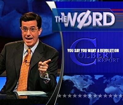 """""""La palabra de esta noche: dices que quieres una revolución"""" - Heisenberg"""