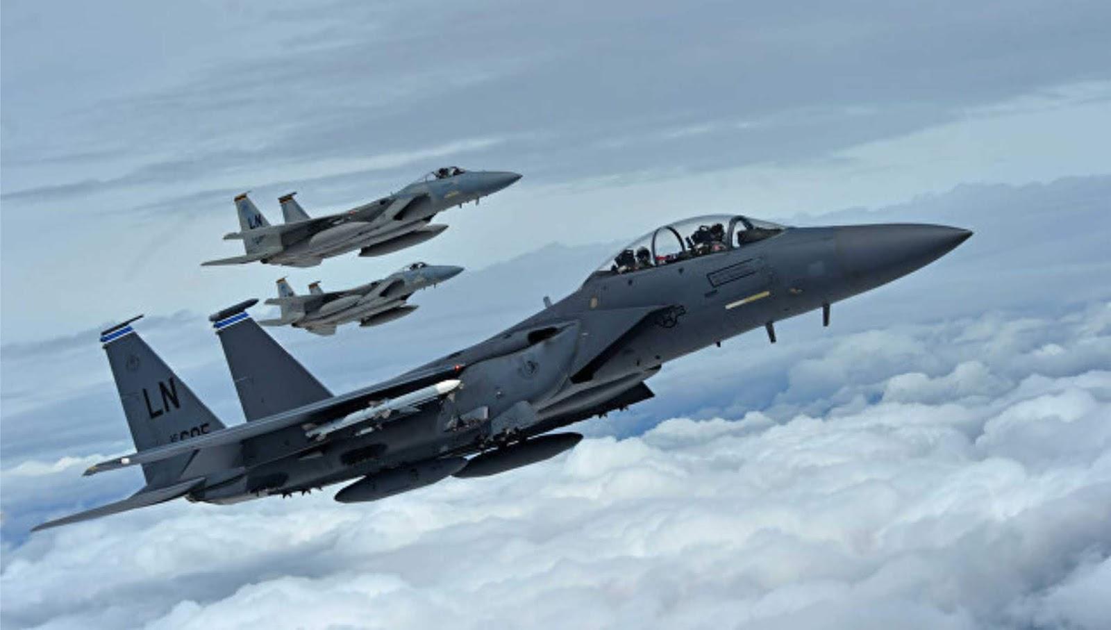 F-15 Amerika menyerang pasukan yang didukungnya di Suriah