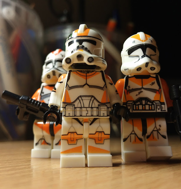 Lego clone troopers minifigures