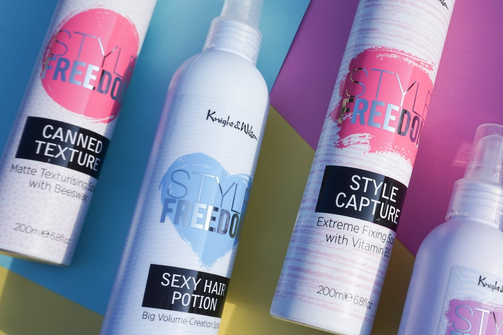 style freedom styling products by knight and wilson at superdrug