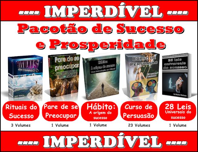 Pacotão do sucesso e prosperidade