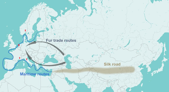 Fur trade may have spread the plague through Europe