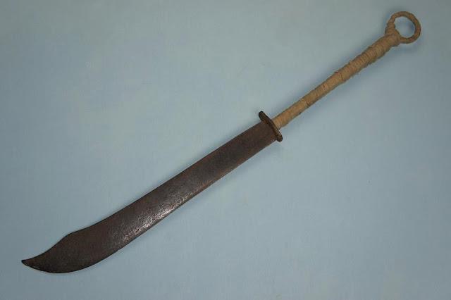 Большой меч, Изогнутый меч, Кривой меч, Меч дао, Оружие, Оружие Китая, Холодное оружие Китая,