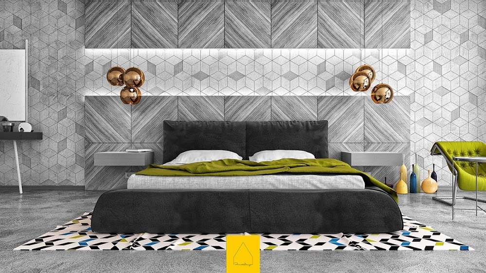 alternating-grey-patterned-bedroom-back-accent-wall-ideas