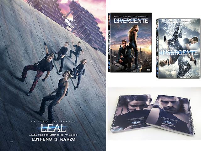 Concurso 'San Valentín': Tenemos para vosotros lotes de 'La saga Divergente: Leal'