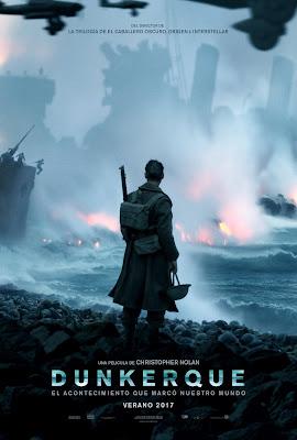 Dunkerque - Cartel español de la pelicula de Christopher Nolan