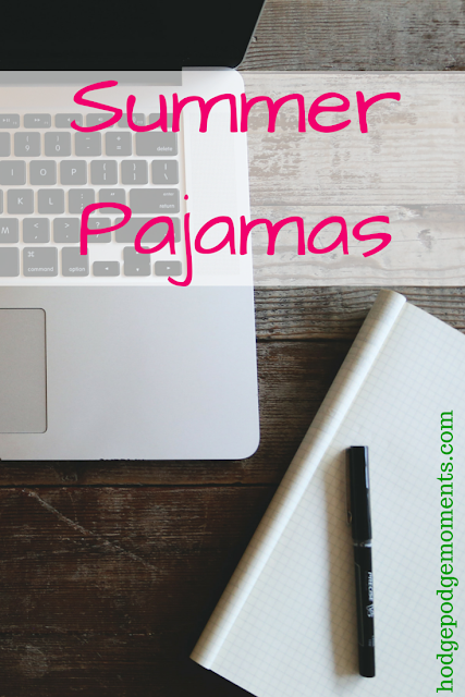 Summer Pajamas + Blogger PJ Party