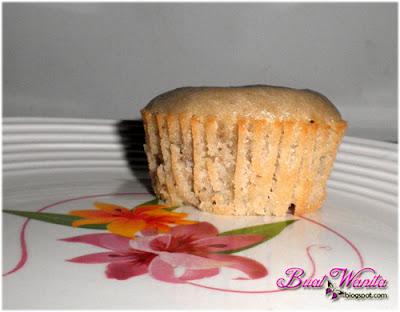 Resepi Mudah Muffin Pisang Sukatan Cawan. Cara Buat Muffin Pisang Gebu. Muffin Pisang Sedap Simple Senang