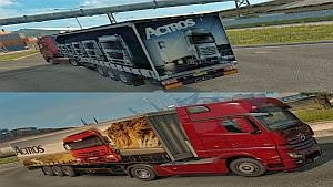 Mercedes Actros trailers