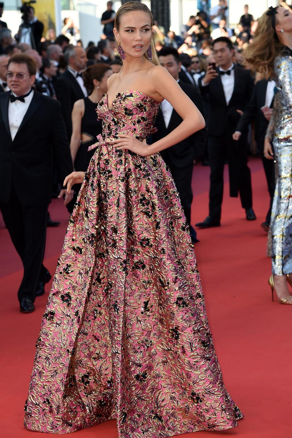 Natasha Poly 2016 Cannes Film Festival
