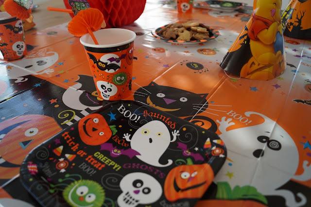 halloween tischdeko für kinder