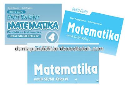 Buku Guru Matematika Lengkap K13 Revisi 2017 dan Revisi 2018 Kelas 4, 5, dan 6 SD/ MI