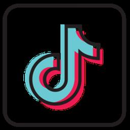 logo tiktok keren 3d